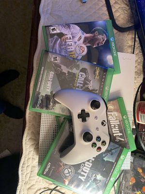 Xbox one S and games for Sale in Richmond, VA
