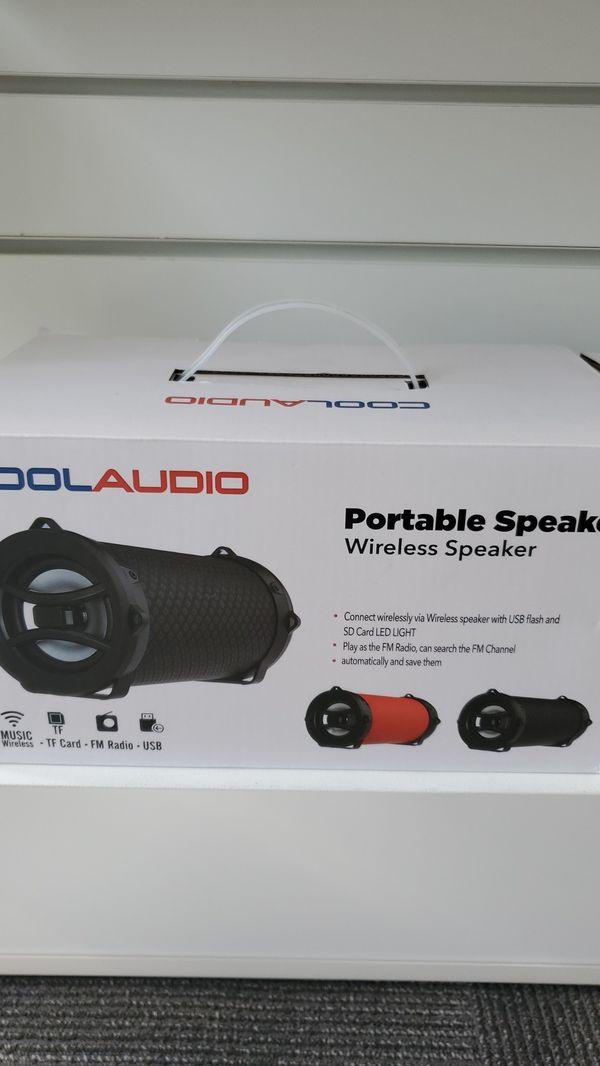 Cool audio portable speaker