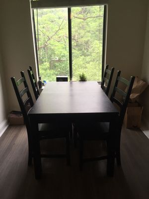 Black Kitchen Table for Sale in Bethesda, MD