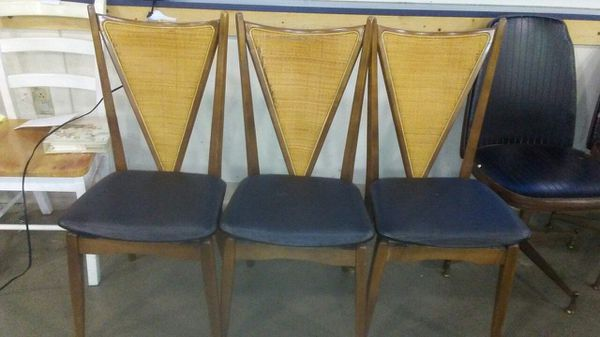Stakmore 3 mid century chairs