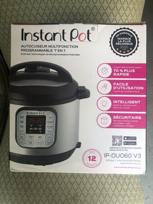 Instant Pot 6 Qt 7 in 1 for Sale in Orlando, FL