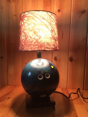 Bowling ball lamp for Sale in Elk Rapids, MI