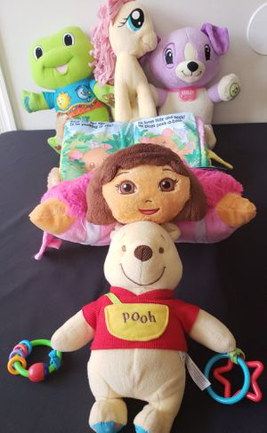 Lot of Baby/Toddler Plush Sounds Bundle for Sale in Hyattsville, MD