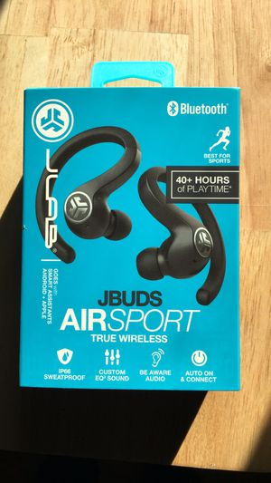 Jlab Audio JBuds Air Sport True Wireless Bluetooth Earbuds for Sale in Fresno, CA