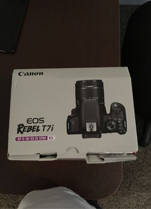 Eos rebel T7i brand new for Sale in Fort Worth, TX