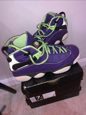 """Jordan 6 Rings """"Bel Airs"""" 7Y for Sale in Washington, DC"""