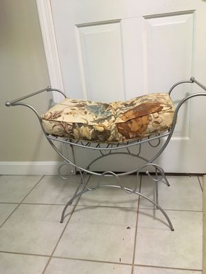 Metal bench/stool for Sale in Tewksbury, MA