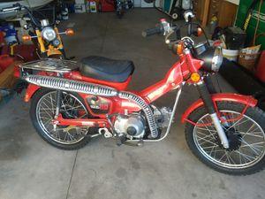 1983 Honda ct110 trail bike 8 speed high low for Sale in Tonto Basin, AZ
