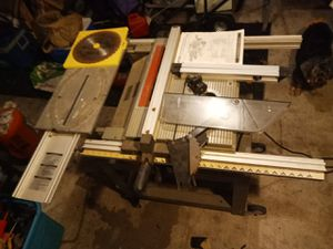 Ryobi BT3000 table saw with accessories for Sale in Austin, TX