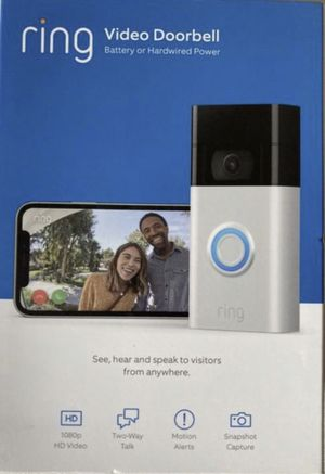 NEW 2nd Generation Ring Doorbell Video Camera - Peace of mind for every home. $150 for Sale in Chula Vista, CA