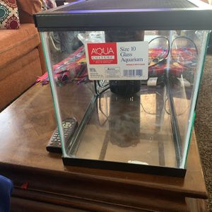 Aquarium Tank With Filter for Sale in San Leandro, CA