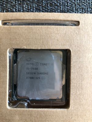 Intel core i5 7400 socket (1151) for Sale in Tacoma, WA