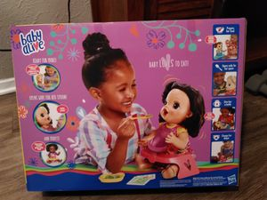 Baby Alive Happy Hungry Baby with Walmart Exclusive Bonus Items for Sale in Longview, TX