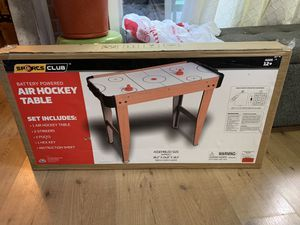 Air hockey table brand new in box for Sale in Burke, VA