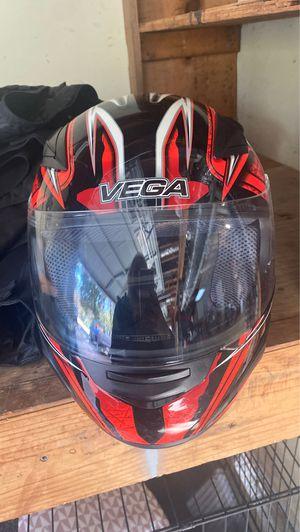 Vega motorcycle helmet for Sale in Stone Mountain, GA