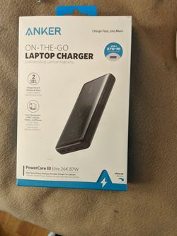 Anker Portable Laptop Charger for Sale in Mesa,  AZ