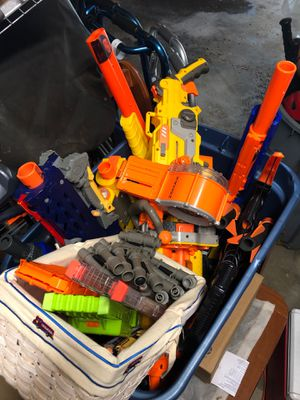 Large Lot of Nerf Guns for Sale in New Richmond, WI