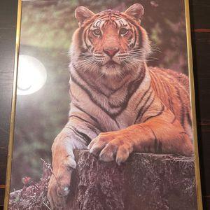 Tiger framed photo for Sale in Anniston, AL