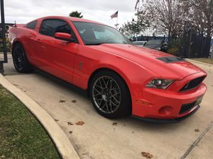 2011 Ford Mustang Shelby GT500 for Sale in Houston, TX