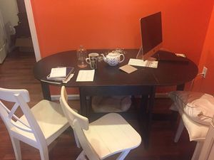 Folding Kitchen Table and 4 chairs for Sale in Washington, DC