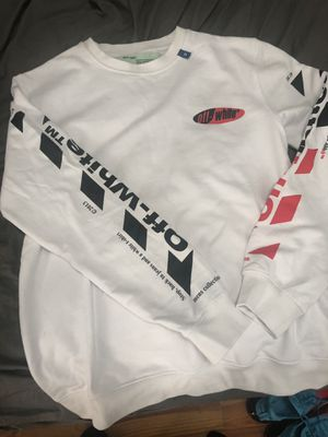 OFF WHITE Sweatshirt, Size Lg (REP) for Sale in North Providence, RI