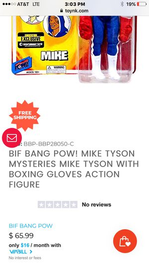 Collectible Mike Tyson action figure for Sale in Los Angeles, CA