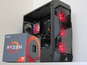** FINANCING + WARRANTY ** Custom Build Gaming PC Desktop Computer AMD RYZEN 7 2700X (8-Core) 3.7-4.3GHz 16GB RAM 512GB SSD AMD Radeon RX 5700 (8GB for Sale in Fontana, CA