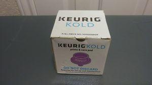 Keurig Kold Prime & Care Pod for Sale in San Antonio, TX