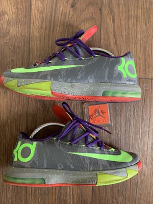 Nike KD Kevin Durant 6 'Energy' Sz 9.5 for Sale in Fresno, CA