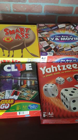 Board games and puzzles for Sale in Livermore, CA