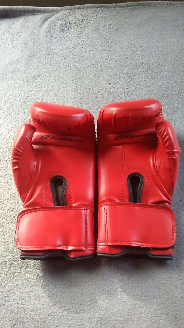 New title sparring/heavy bag. Boxing gloves