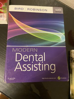 Modern dental assisting textbook for Sale in Aurora, CO