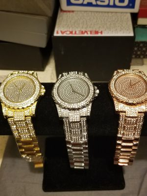 UNISEX BLING WATCHES TRIO for Sale in Springfield, VA