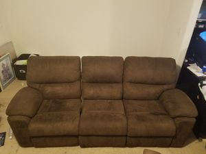 Brown manual reclining theater seats for Sale in Ruther Glen, VA
