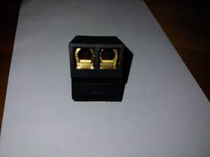 2pin ppi precision power amplifier plug 2 pin amp plug viper dei tube driver BRAND NEW OLD STOCK RARE NOS for Sale in Huntington Beach, CA