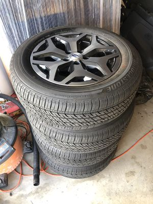 2019 Subaru Forester wheels 114.3x5 for Sale in Riverside, CA