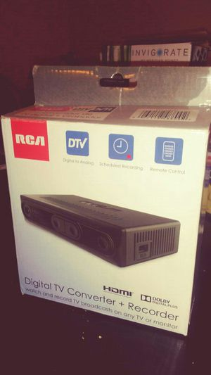Rca recorder and converter for Sale in St. Louis, MO