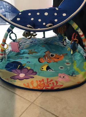 Disney Baby playmate Finding Nemo Mr. Ray Ocean Lights Activity Gym for Sale in Lake Worth, FL