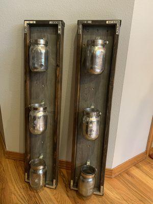 Mason jar rustic farmhouse decor for Sale in Fox Island, WA
