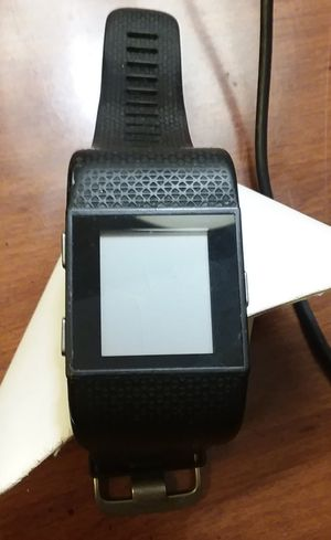 Fitbit Surge with Large Black Band for Sale in Everett, WA