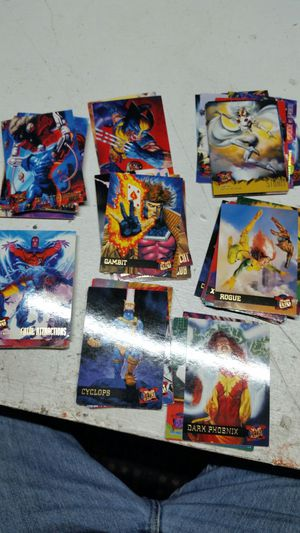 Marvel cards for Sale in Fresno, CA