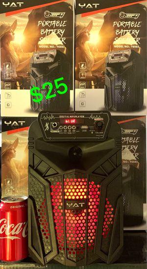 Brand new Bluetooth speaker just $25 very loud !!! for Sale in Las Vegas, NV