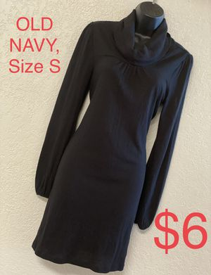 OLD NAVY, Black Turtle Neck Dress, Size S for Sale in Phoenix, AZ