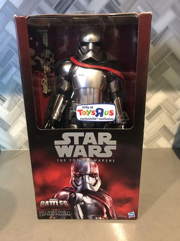 Disney Star Wars Captain Phasma Lot. Pop black series toys r us