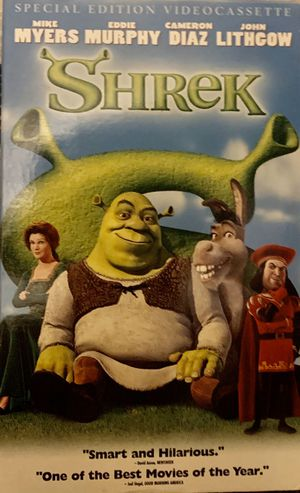 Shrek vhs for Sale in Easley, SC