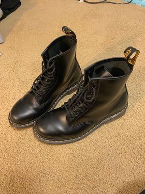 Dr Marten 1460 Smooth Black USM 9 boots for Sale in Renton, WA