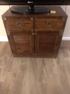 Wooden Dresser/Bed side table/Chest for Sale in Aloma, FL