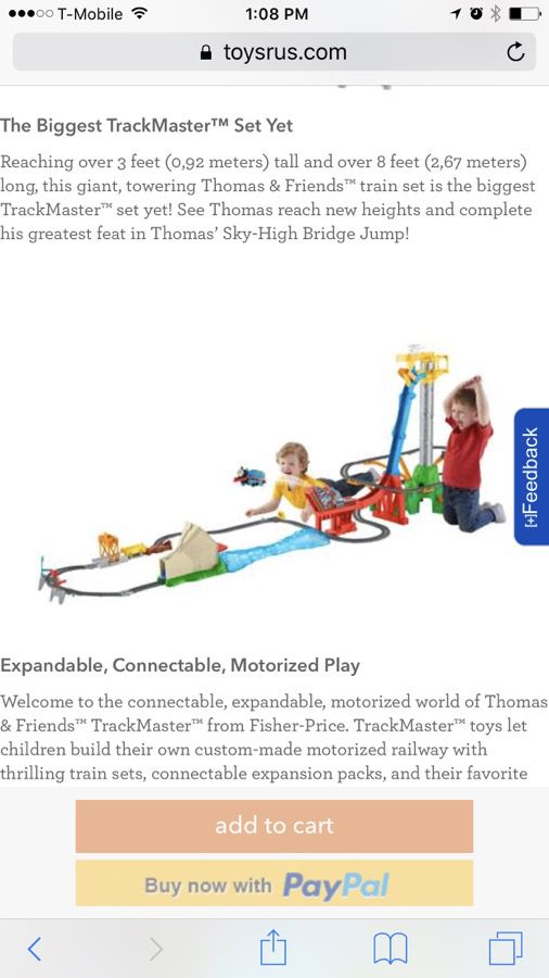 Thomas & Friends TrackMaster Thomas' Sky-High Bridge Jump Train Set for  Sale in Ontario, CA - OfferUp