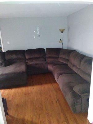 Big sectional couch made by Ashley Furniture for Sale in Raleigh, NC