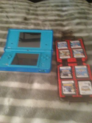 Nintendo DS with 16 games and the Lego case 120 or best offer for Sale in Boston, MA